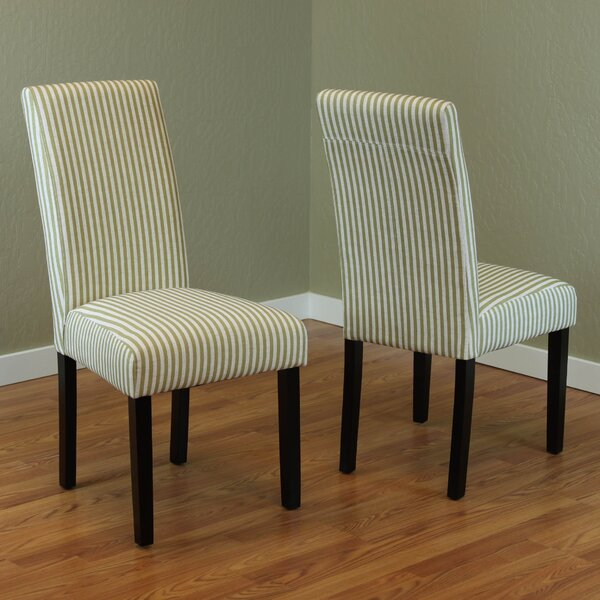 Lemelle Parsons Chair (Set of 2) by One Allium Way One Allium Way®