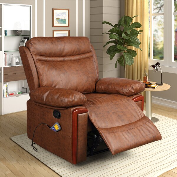 Power Reclining Heated Full Body Massage Chair W003044755