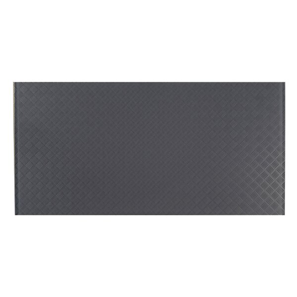 Elements Striped 12 x 24 Glass Field Tile in Dark Gray by Abolos