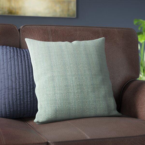 Verrett Solid Indoor/Outdoor Throw Pillow by Alcott Hill