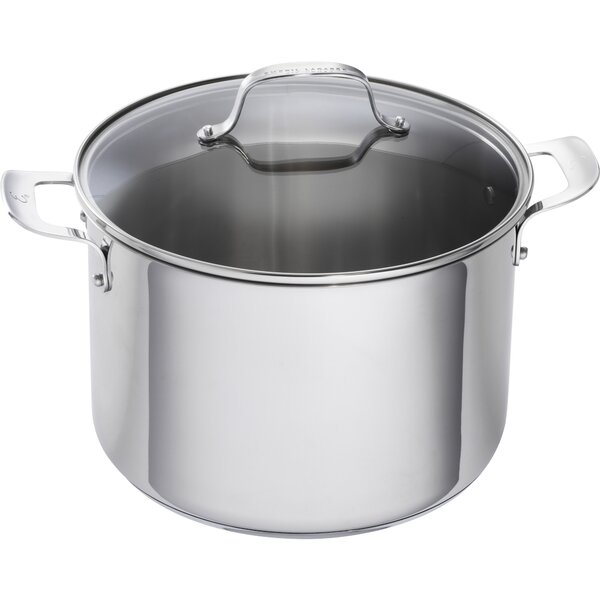 Stainless Steel Stock Pot with Lid (Set of 2) by Emeril Lagasse