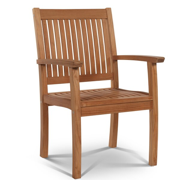 Buckingham Teak Patio Dining Chair by HiTeak Furniture