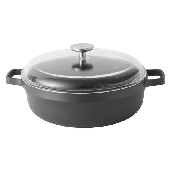 Gem 4.9 qt. Two-Handle Saute Pan with Lid by BergHOFF International