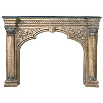 Arch Fireplace Surround by Ambella Home Collection
