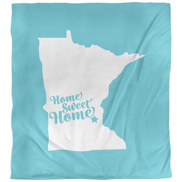 Minneapolis Home Sweet Single Duvet Cover