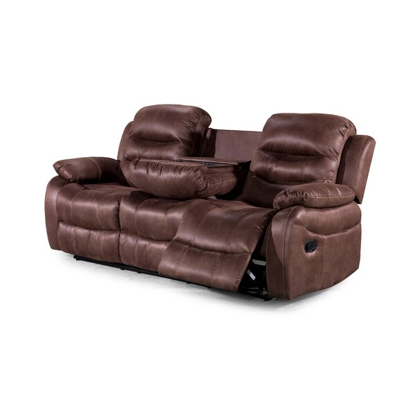 Courville Reclining Sofa by Winston Porter