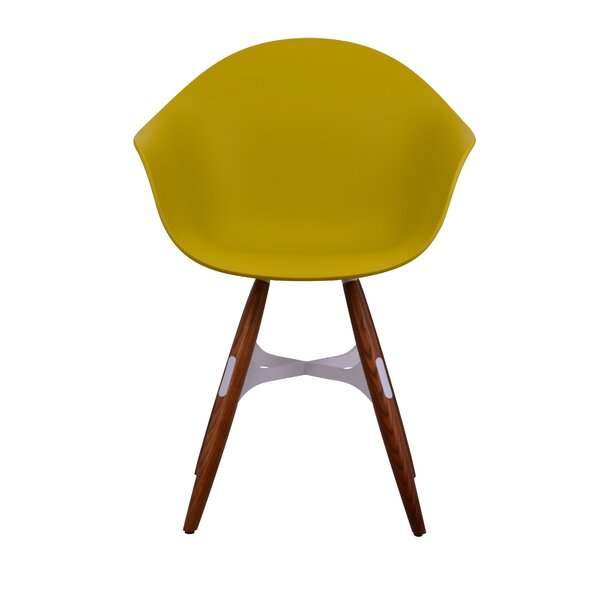 Tena Zigzag Solid Wood Dining Chair by Ivy Bronx