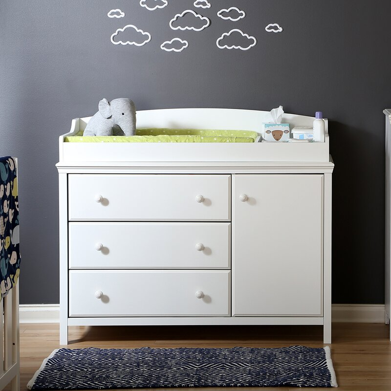 Amazing Cotton Candy Changing Dresser Great Ideas