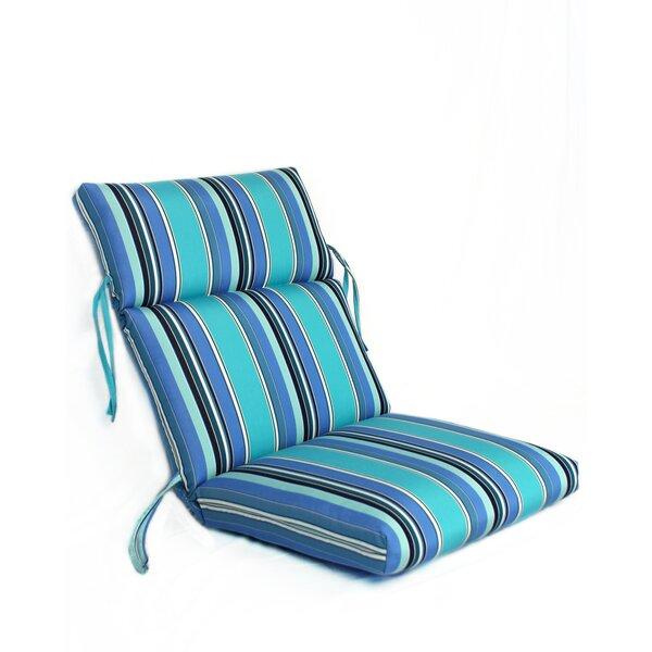 Merrimack Indoor/Outdoor Sunbrella Lounge Chair Cushion by Beachcrest Home