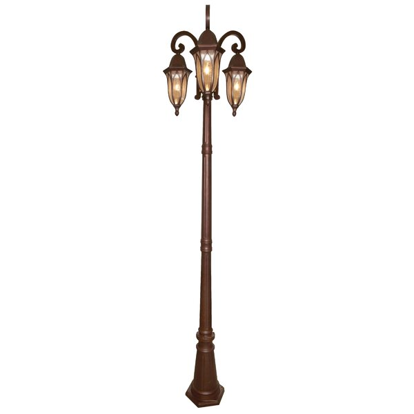 Charlbury 3-Light 88.75 Post Light by Darby Home Co