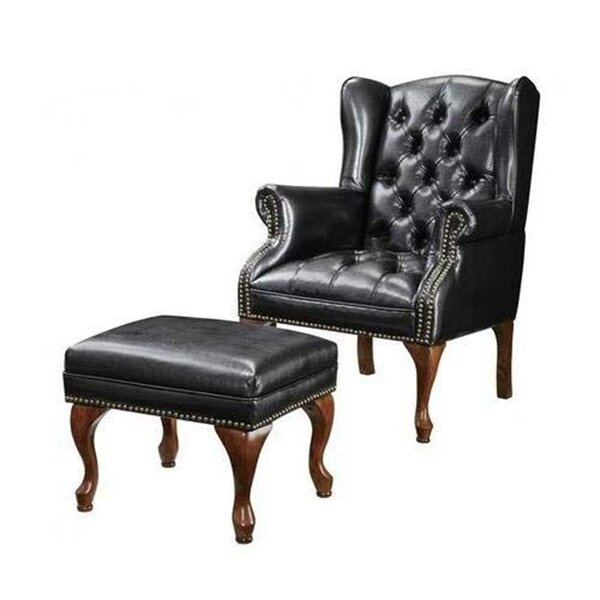 Mele Wing Accent Wingback Chair by Darby Home Co Darby Home Co
