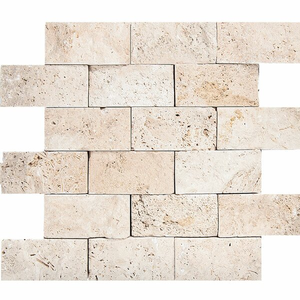 0.63 x 12 Stone Splitface Tile in Ivory by Parvatile