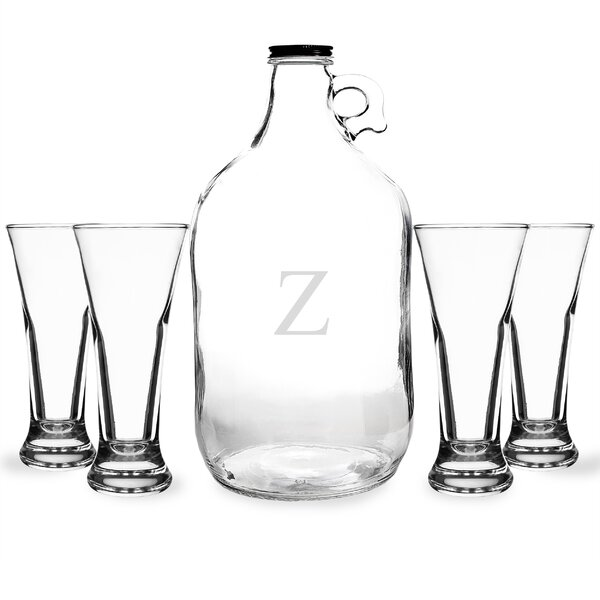 5-Piece Craft Beer Growler Set by Cathys Concepts