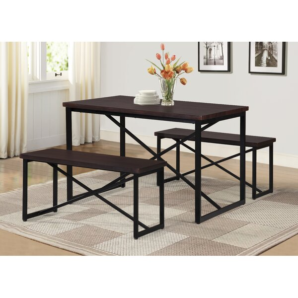 Bearden 3 Piece Dining Set by Williston Forge