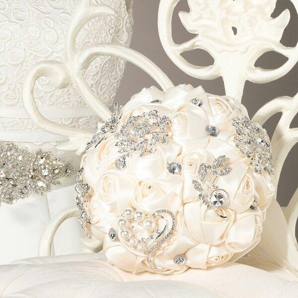 Crystal Flower Wedding Bouquet by Lillian Rose