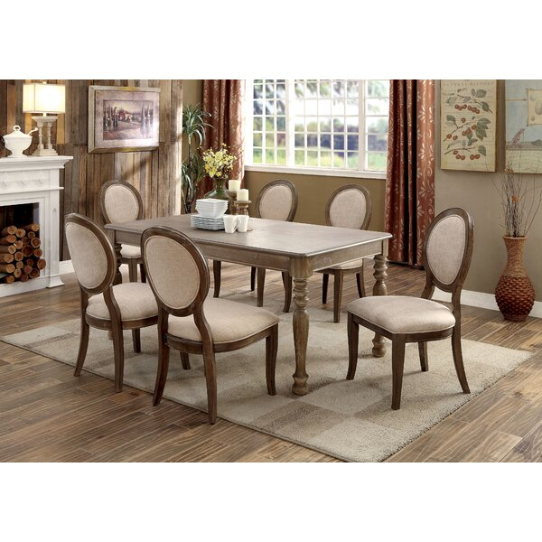 Bloomingdale 7 Piece Dining Set by One Allium Way One Allium Way
