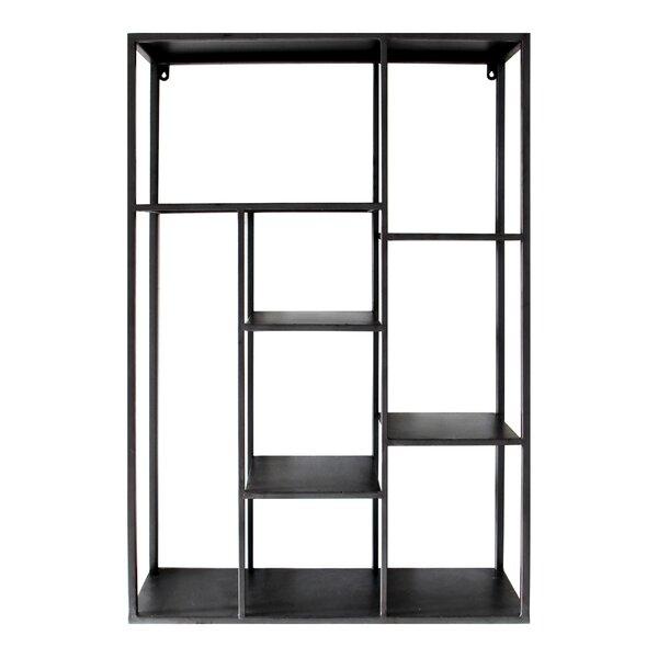 Morrill Geometric Bookcase By Williston Forge