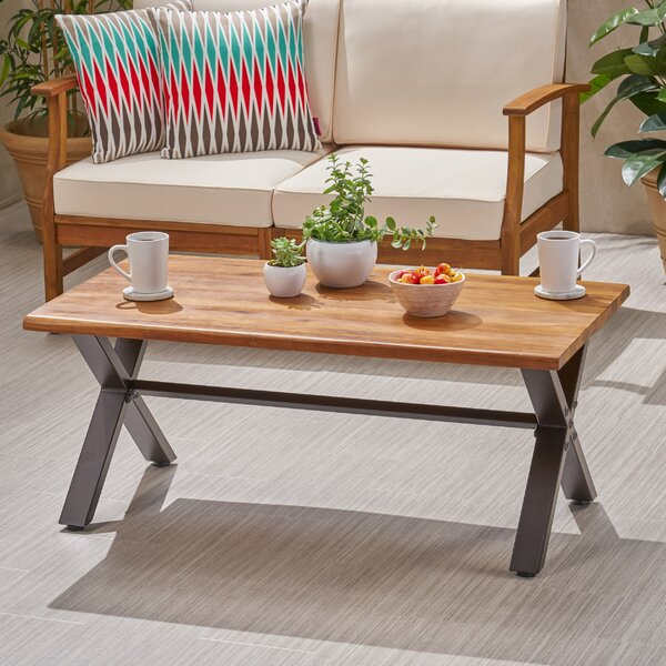 Barboza Acacia Coffee Table by Gracie Oaks