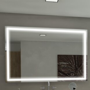 Best Reviews Harmony Illuminated Bathroom / Vanity Mirror ByParis Mirror