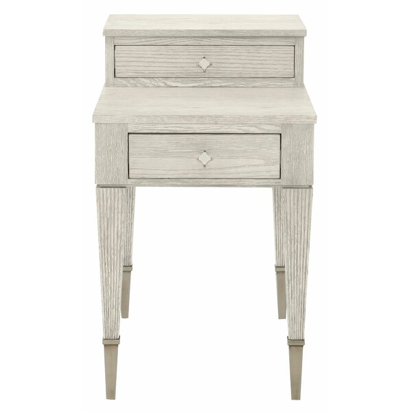 Domaine End Table with Storage by Bernhardt