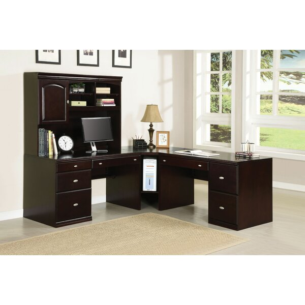 Lakey 5 Piece L-Shape Desk Office Suite by Red Barrel Studio