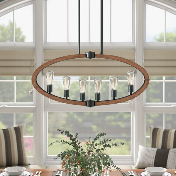 Orly 6-Light Kitchen Island Pendant by Laurel Foundry Modern Farmhouse