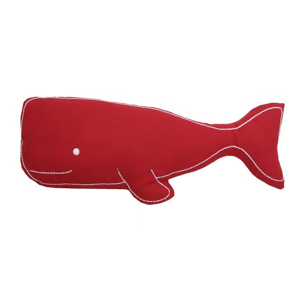 Swell Whale Pillow By Birch Lane Kids.