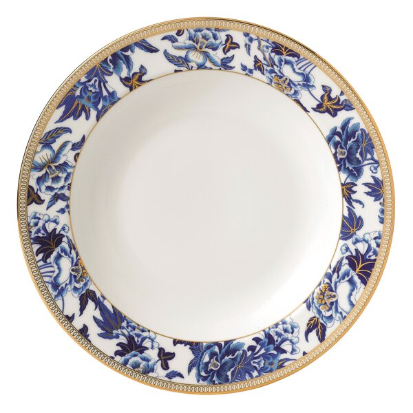 Hibiscus 9 Soup Plate by Wedgwood