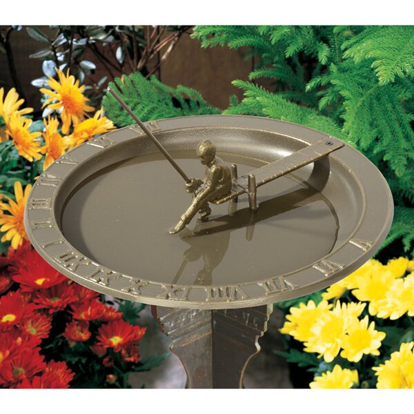 Fisherboy Birdbath by Whitehall Products