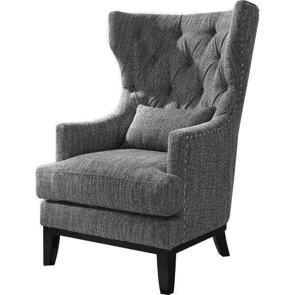 Val Wingback Chair by Darby Home Co