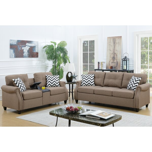 Firestone 2 Piece Living Room Set by Charlton Home