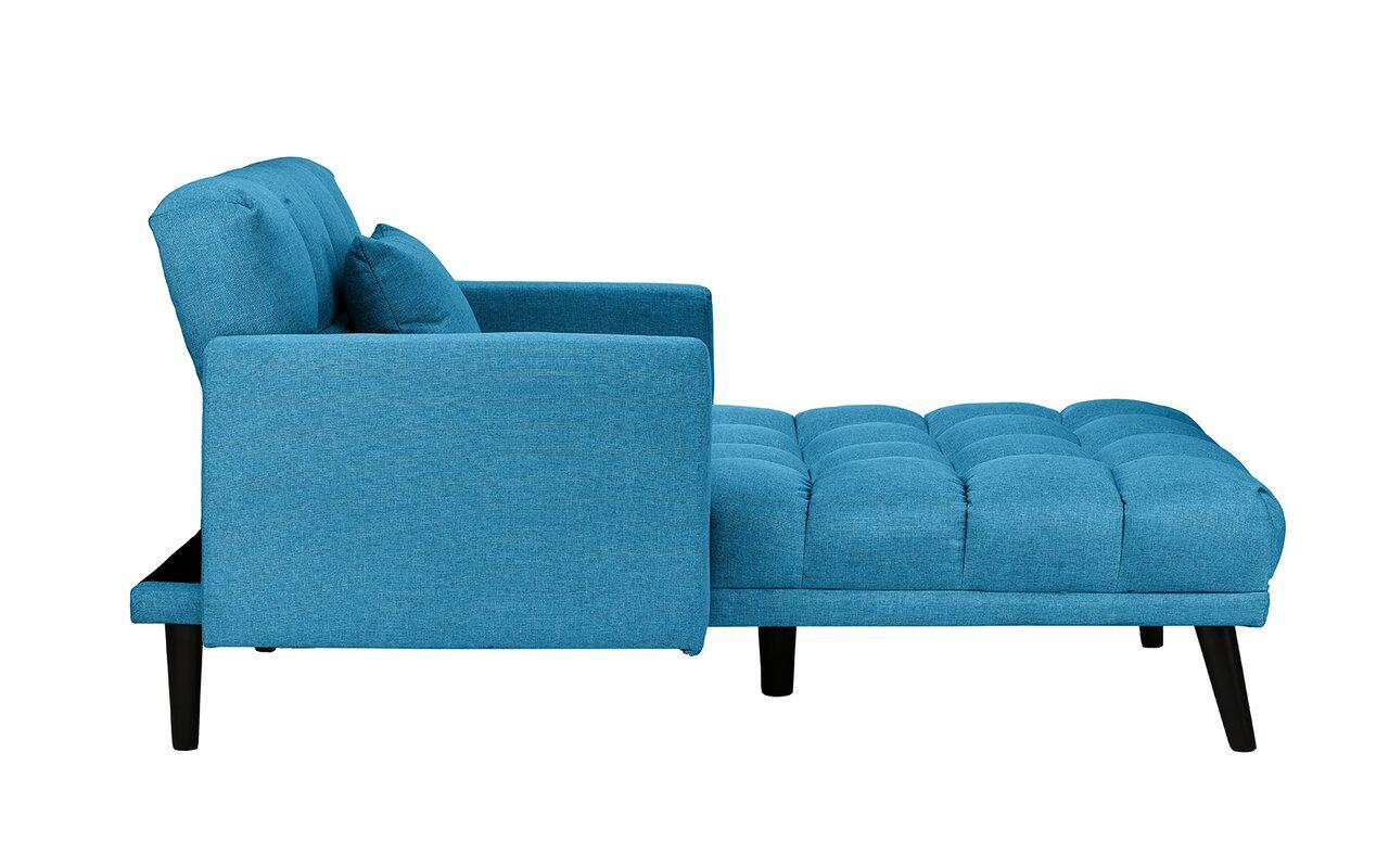 Chaiselongue Modern wrought studio searfoss modern single chaise lounge reviews wayfair