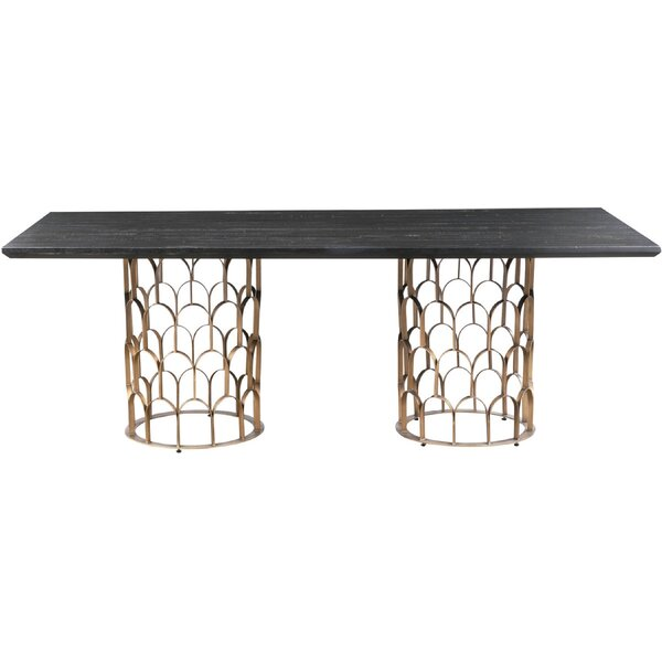 Glenna Dining Table by Everly Quinn