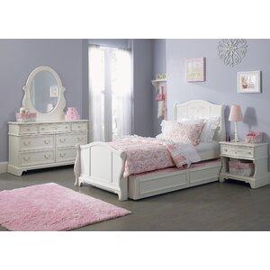 Maia Sleigh Configurable Bedroom Set