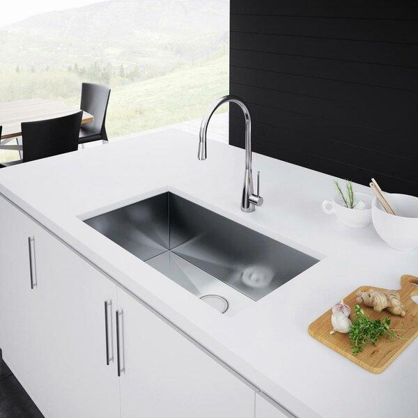 30 L x 19 W Undermount Kitchen Sink by Exclusive Heritage