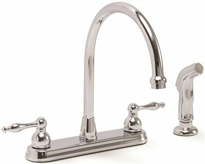 Wellington™ Double Handle Kitchen Faucet with Side Spray by Premier Faucet