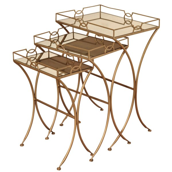 Orchimont 3 Piece Nesting Tables by Mercer41