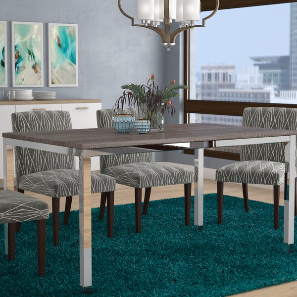 Derouen Dining Table by Wrought Studio
