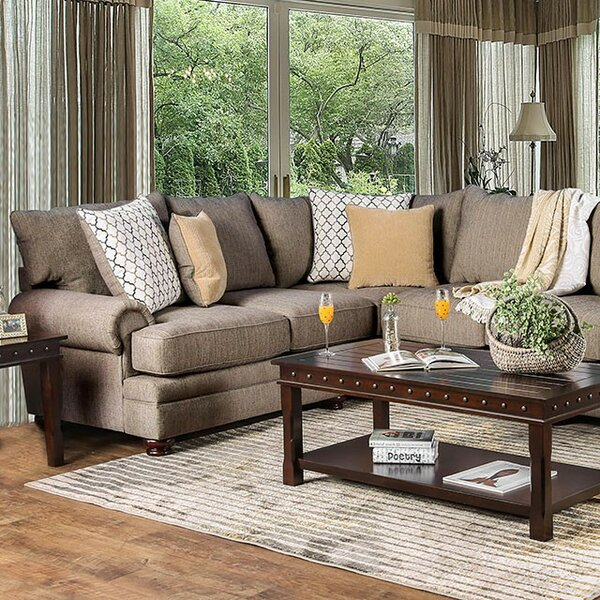 Fargo Sectional by Darby Home Co