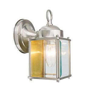 Compare prices Weishaar LED Outdoor Wall Lantern By Winston Porter