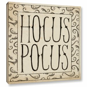 Hocus Pocus Square II Painting Print on Wrapped Canvas by The Holiday Aisle