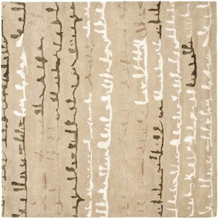 Affordable Armstrong Light Dark Beige / Light Dark Multi Contemporary Rug By Winston Porter