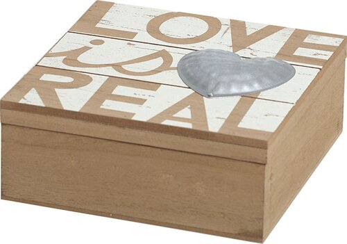 Love is Real Jewelry Box by Transpac