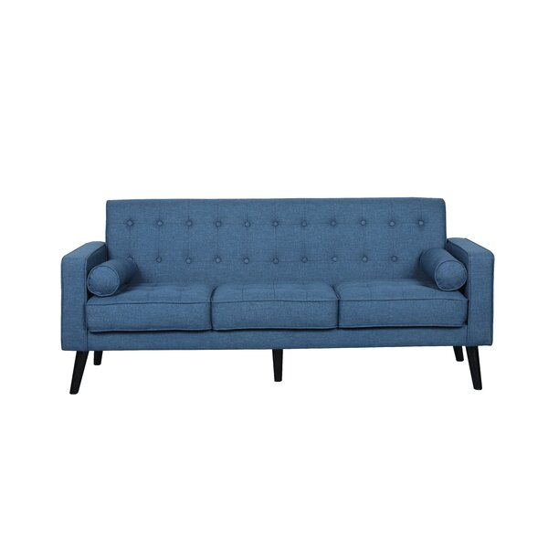 Deven Mid Century Tufted Sofa by Langley Street