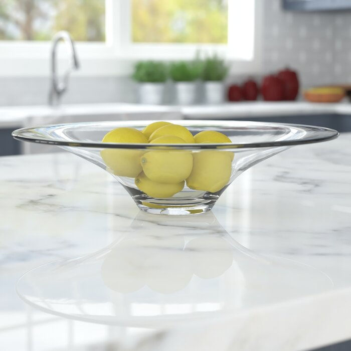 Decorative Clear Glass Bowls.Glass Decorative Bowl