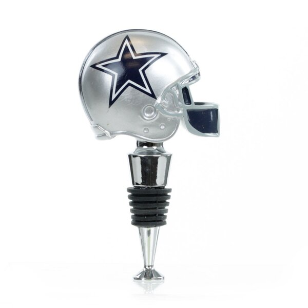 NFL Helmet Wine Stopper by Team Sports America