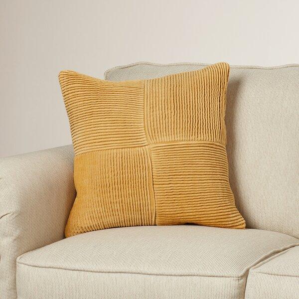 Dante Cotton Throw Pillow by Wade Logan
