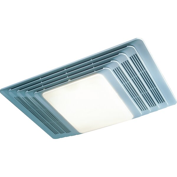 100 CFM Exhaust Bathroom Fan with Light by Broan