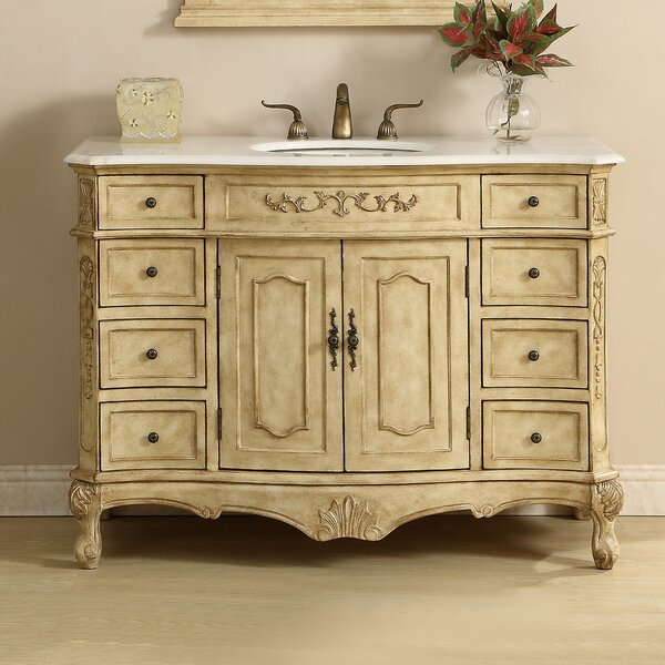 Meriden 48 Single Bathroom Vanity Set by Astoria Grand