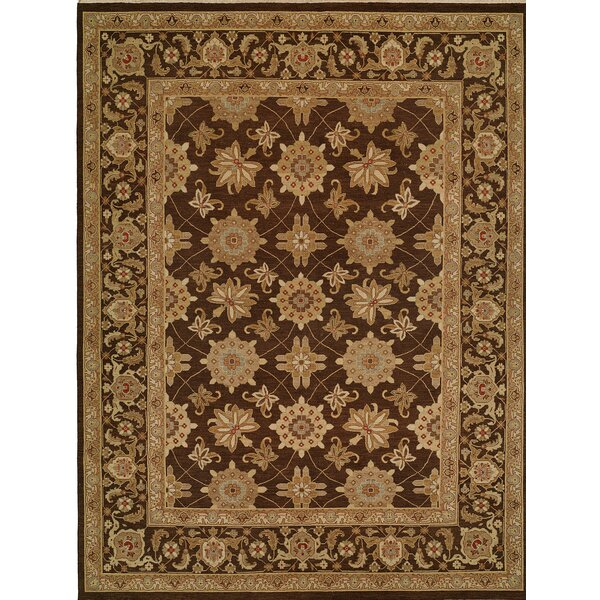 Hand-Woven Brown Area Rug by Wildon Home ®